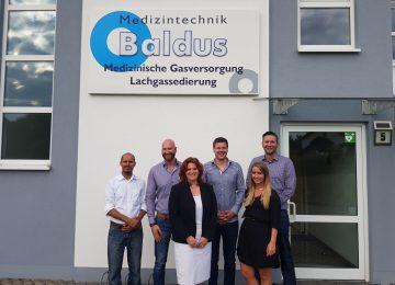 Sandra Weeser bei Baldus Medizintechnik GmbH