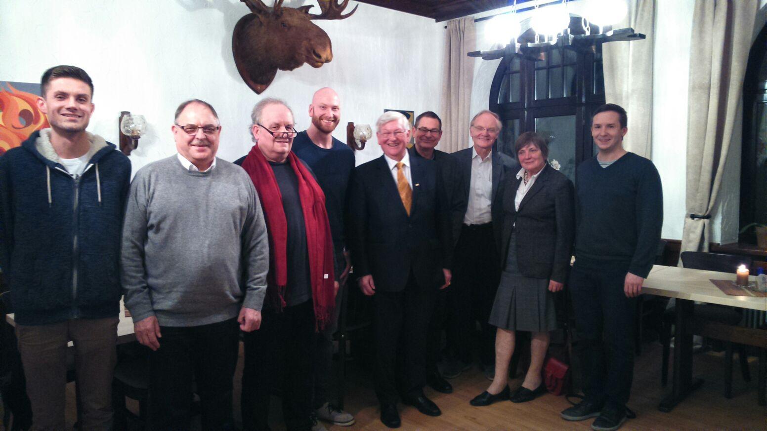 Exklusiver Dialog der FDP mit dem Interims-Betreiber der neuen Stadthalle Vallendar