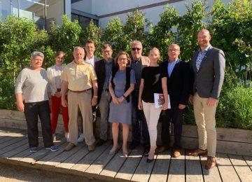Freie Demokraten aus dem Kreis Mayen-Koblenz besuchen Landtag